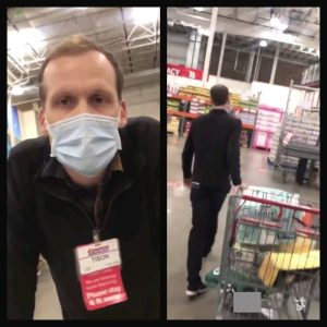 Costco is trending behind an altercation between a shopper refusing to wear a mask and a Costco employee walking away with his cart simply unbothered [VIDEO]  