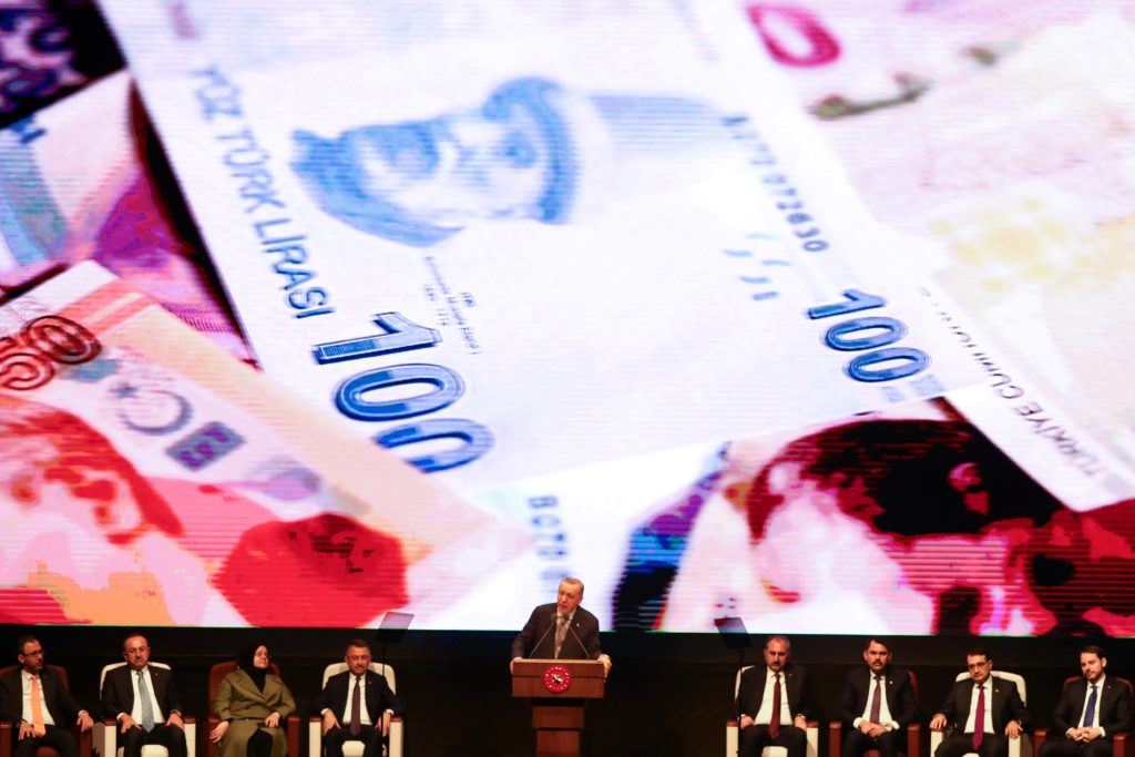 Turkey's lira hits its lowest level ever amid investor fears over sinking economy