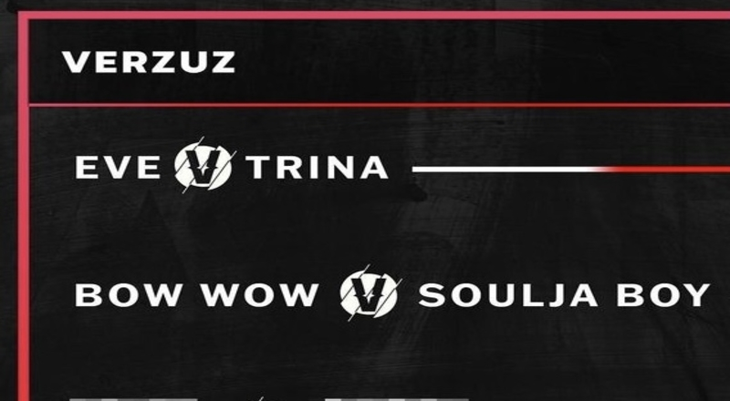 Verzuz Announces That Their Next Battles Will Feature Eve vs Trina and Soulja Boy vs Bow Wow