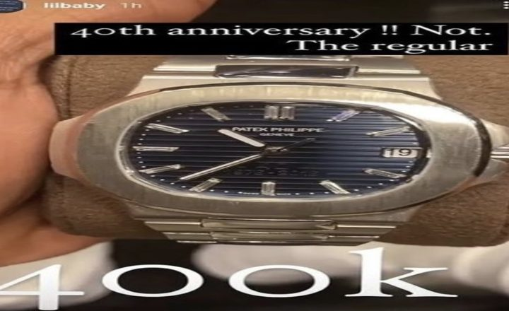"""Lil Baby Supposedly Bought $400,000 Replica Patek Philippe Watch, After """"Fake Watch Busters 2.0"""" Instagram Account, Said So, and DMed Baby to Let Him Know [PHOTOS]"""