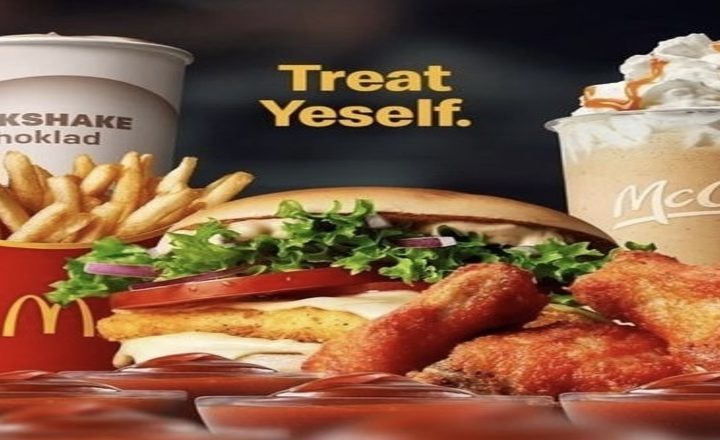 """McDonald's Starts """"Treat Yeself"""" Ad Campaign, After Kanye West's Recent Surprise Visit to a Swedish Location"""
